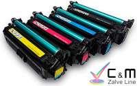 HP741 Toner Compatible HP Laserjet CP5220. Toner Cyan Compatible para Impresoras HP Laserjet CP5220
