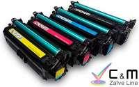 CE251A Toner Compatible HP Laserjet CP3025